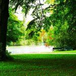 Stille im Englischen Garten in München