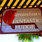 Ladenschild in Amelia Island (Florida)