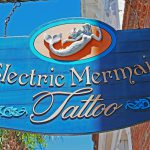 Electric Mermaid Tatoo in Amelia Island (Florida)