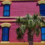 Typische Hausfassade in Amelia Island (Florida)