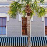 Historische Hausfassade in Amelia Island (Florida)