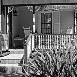 Veranda eines Hauses in Amelia Island (Florida)