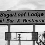 Reklameschild der Sugar Loaf Lodge auf Sugarloaf Key (Florida)