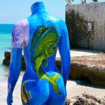 Eine Art von besonderer Kunst in Key West (Florida)