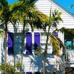 Typisches Holzhaus mit karibischem Flair in Key West (Florida)