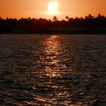 Sonnenuntergang am Mallory Square in Key West (Florida)