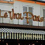 Das Bistro Le Vrai Paris