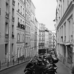 Straße in Paris