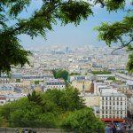 Blick auf Paris vom Scare Willette