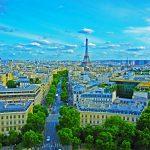 Blick auf Paris vom Arc de Triomphe