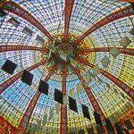 Die Kuppel der Galeries Lafayette in Paris