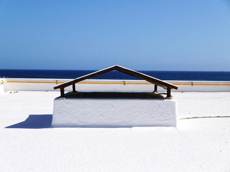 Hausdach in Puerto del Carmen (Lanzarote)