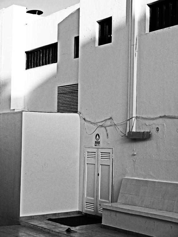 Innenhof in Puerto del Carmen (Lanzarote)