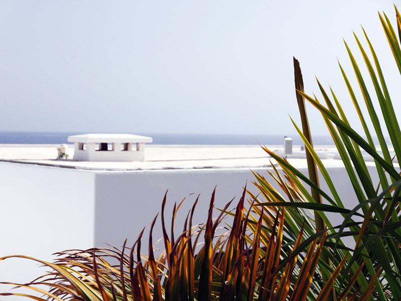 Blick aufs Meer in Puerto del Carmen (Lanzarote)