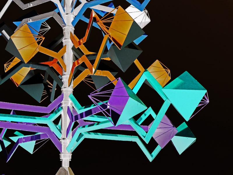 Windspiel in der Fundación César Manrique (Lanzarote)