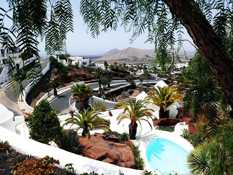 Ausblick vom LagOmar (Lanzarote)
