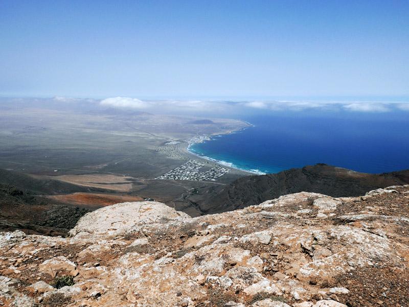 Blick vom Famara-Massiv (Lanzarote)