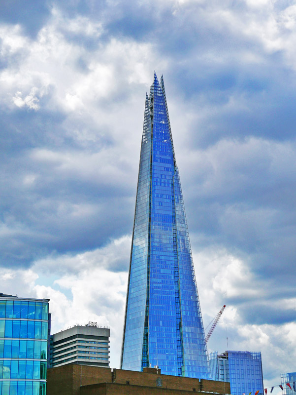 Wolkenkratzer The Shard in London