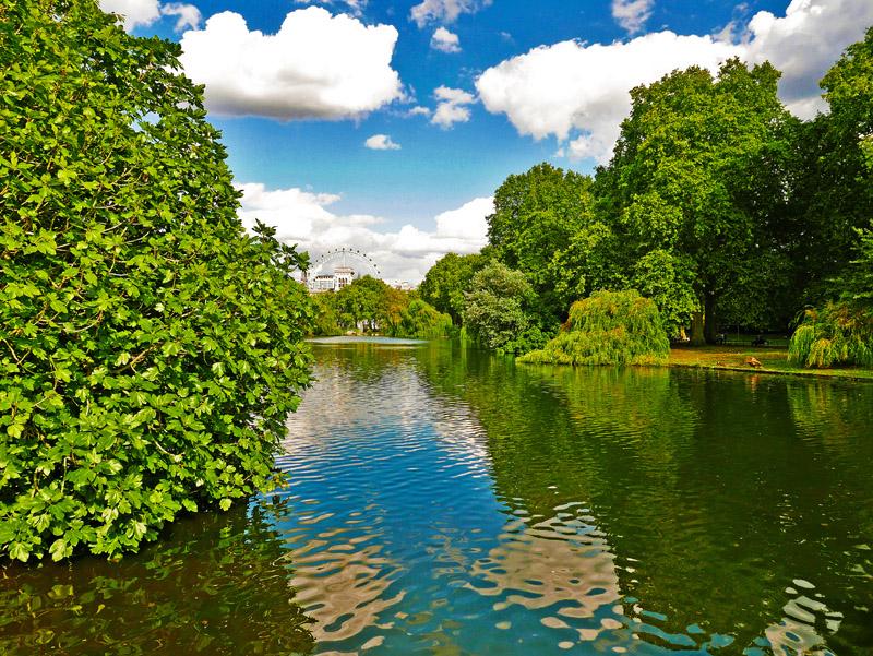 Teich im Londoner St. James´s Park