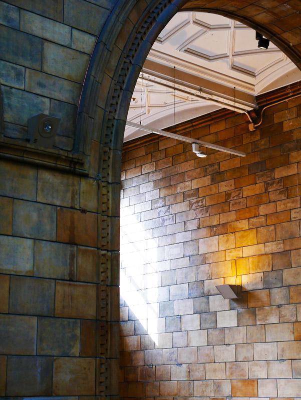Treppenhaus im Natural History Museum in London