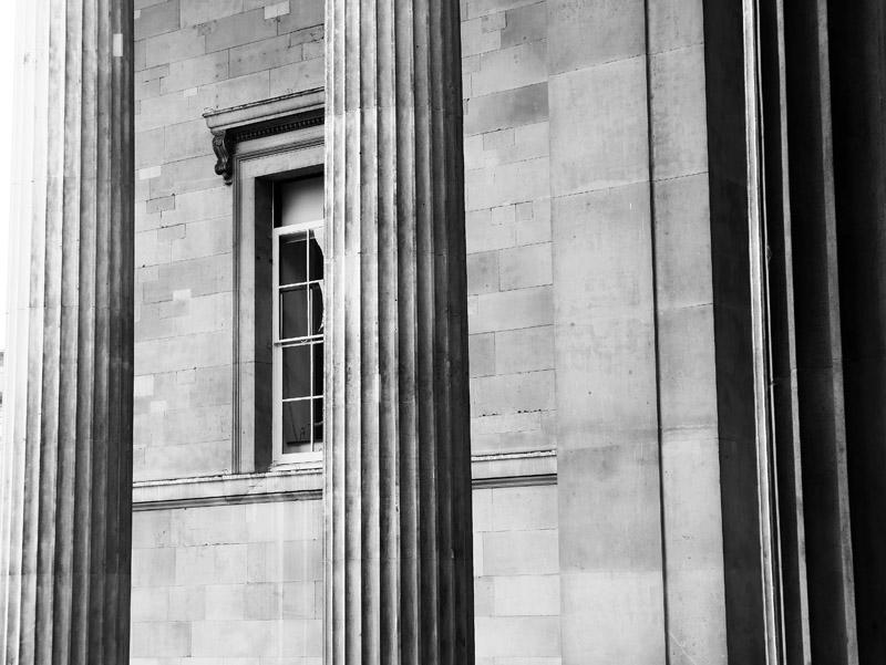 Außenfassade des Londoner British Museum