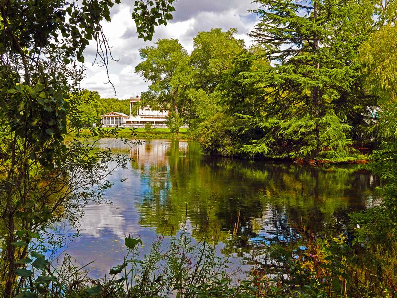 Blick auf einen Teil des Buckingham Palace in London