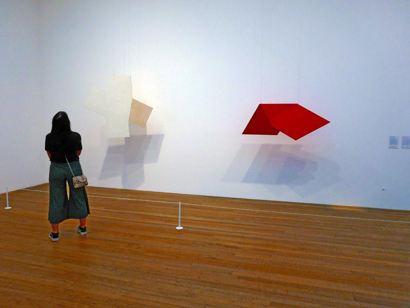 Moderne Kunst in der Tate Gallery of Modern Art (Tate Modern) in London