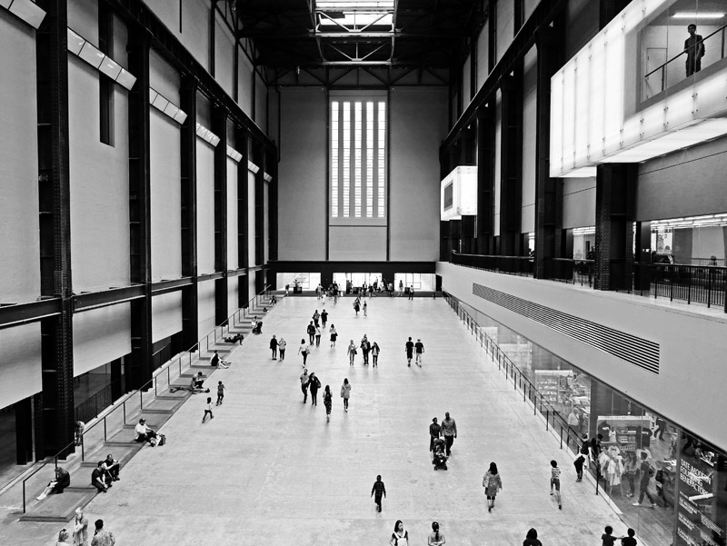 Turbine Hall des Tate Modern in London