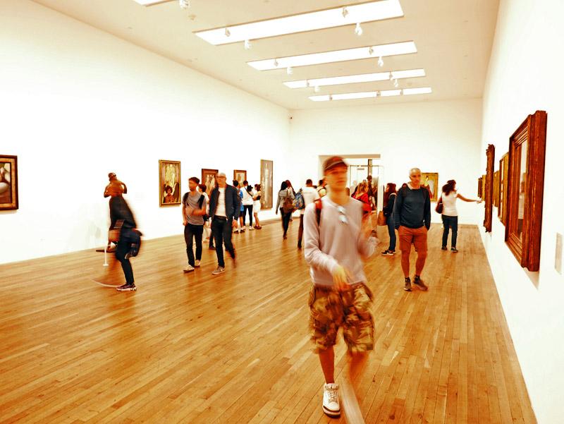 Ausstellungsraum im Londoner Tate Modern