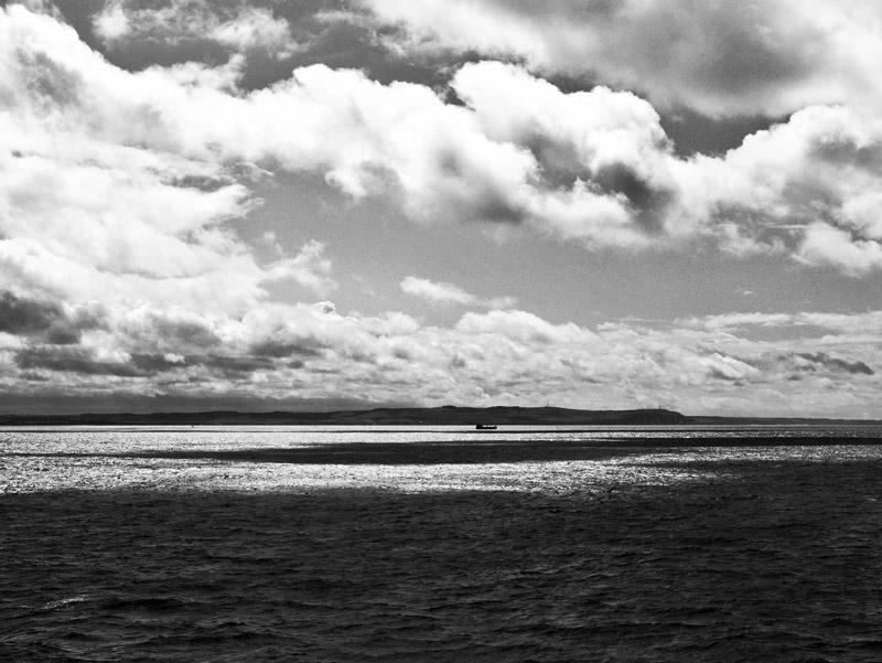 Ärmelkanal an der französischen Küste